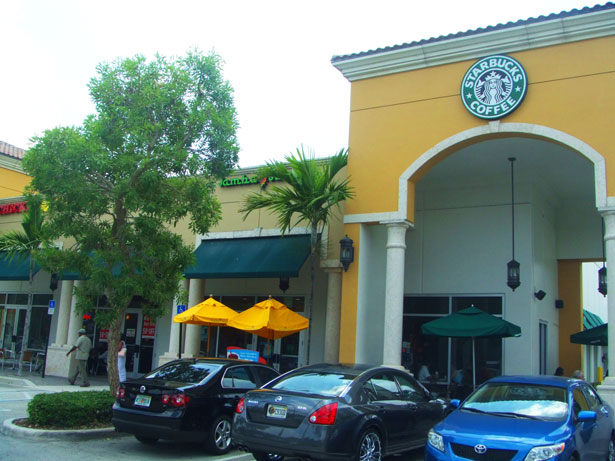 Nearby Starbucks